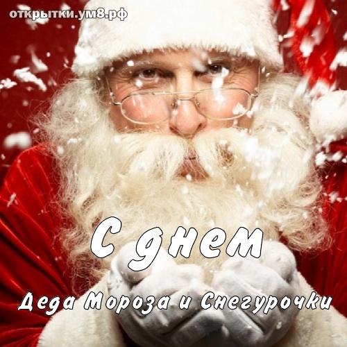 Профессиональные праздники День Деда Мороза и Снегурочки